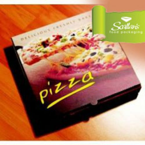 Catering Supplies Pizza Boxes PIZZA BOX 10 COLOUR Scallans