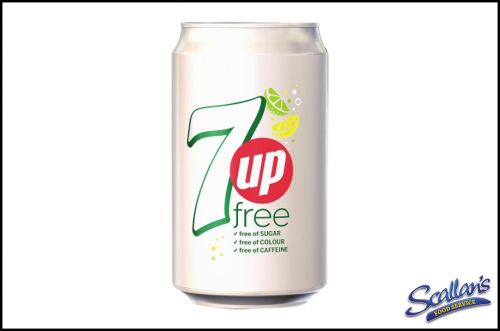 7Up Free Cans x24