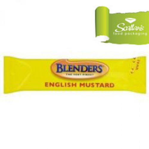 Blenders English Mustard Sachets