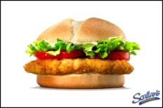 Glenhaven Chicken Burger €7.50