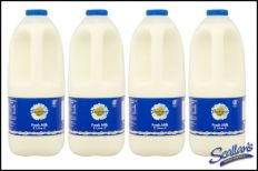 4x 2ltr Full Fat Milk €5.99