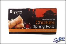 Diggers Mini Chicken Spring Rolls €3.99