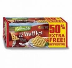 Greenisle Potato Waffles €2.99