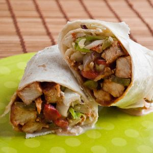 Recipe » BBQ Chicken Wrap