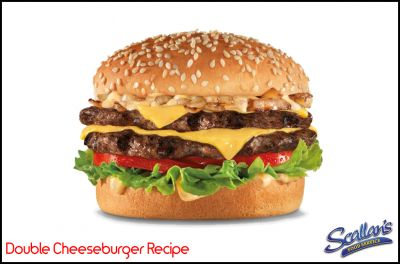 Recipe » Double Cheeseburger