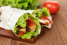 Taco Chicken Wrap
