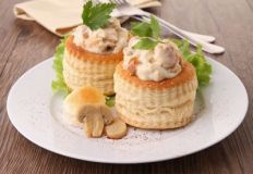 Chicken & Mushroom Vol au Vents Recipe